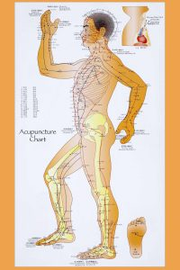 acupuncture median map