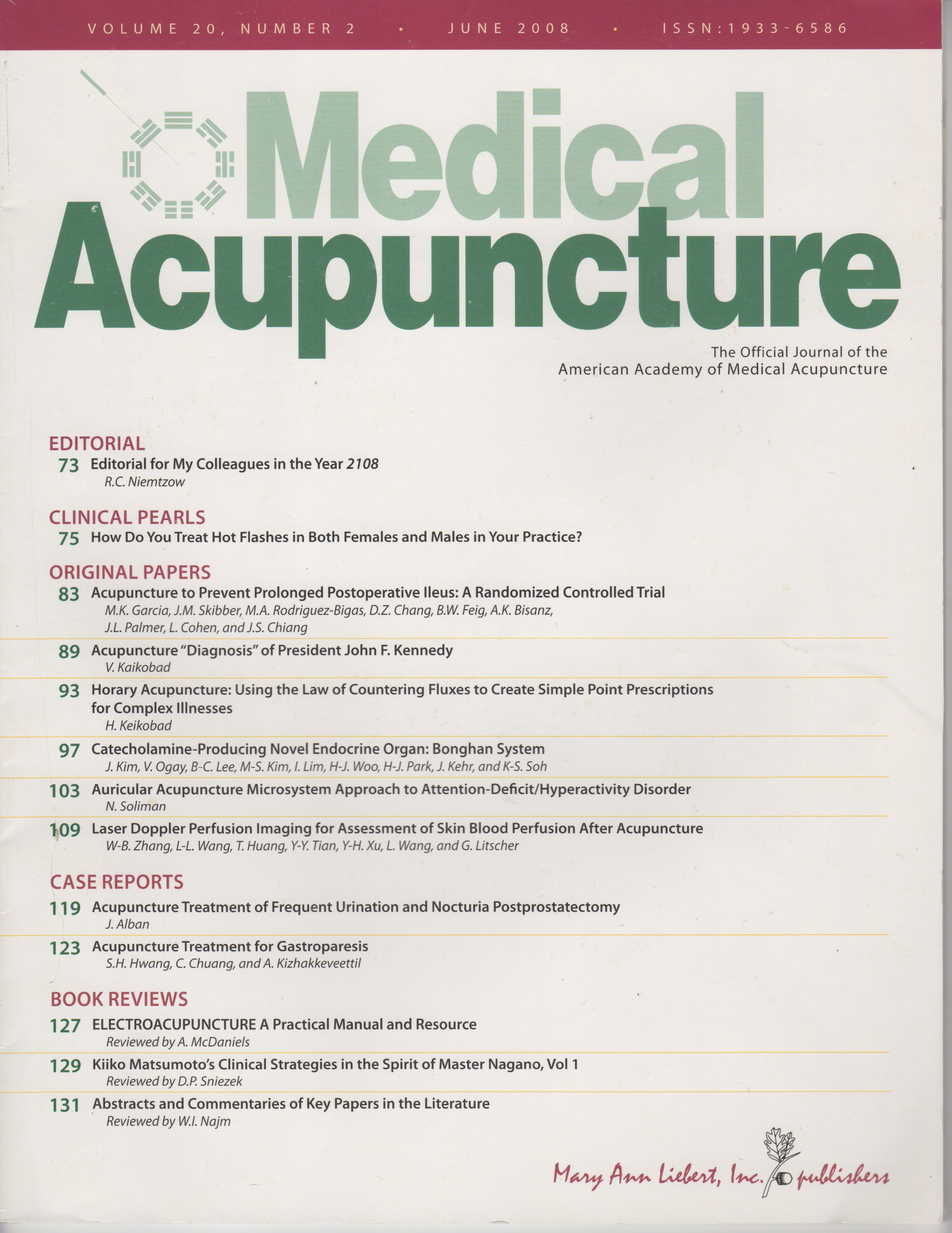 Acupuncture for Treatment of Frequent Urination Post Prostate Surgery