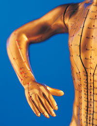 Acupuncture treatment of Acne