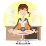 meditation at office 1