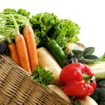 vegetables in a basket 1